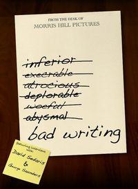 Bad Writing