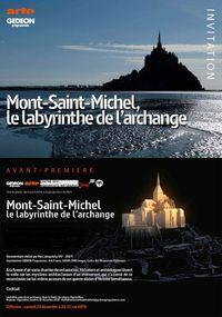 Mont-Saint-Michel – Le labyrinthe de l'archange