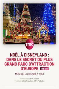 Noël à Disneyland : dans le secret du plus grand parc d'attraction d'Europe